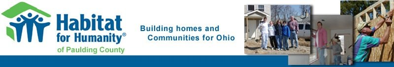 Habitat for Humanity - Paulding County, Ohio